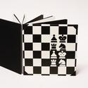 Fotóalbum sakkozóknak, sakkos scrapbook, fekete és fehér fényképalbum, Naptár, képeslap, album, Férfiaknak, Mindenmás, Fotóalbum, Fotóalbum sakkozóknak, sakkos scrapbook album, fényképalbum sakktáblás borítóval, fekete és fehér be..., Meska