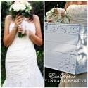 Vintage Esküvő-20% KEDVEZMÉNY, Baba-mama-gyerek, Esküvő, Nászajándék, Gyerekszoba, Festett tárgyak, Ha most rendeled, 20% KEDVEZMÉNY, JANUÁRI ELKÉSZÜLÉSSEL.  Nászajándék,  romantikus esküvőre, egyedi..., Meska