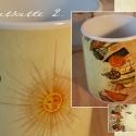 2 dl-es Bögre/Lea Meséi - Napfelkelte 2, Konyhafelszerelés, Képzőművészet , Bögre, csésze, Illusztráció, Fotó, grafika, rajz, illusztráció, A bögrén látható illusztrációt egy nagyon kedves barátom Lea Meséi-hez készítettem 2011-ben. A prin..., Meska