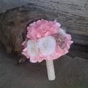 Tulipános vintage csokor esküvőre, ballagásra, ajándéknak, vagy csak úgy. :), Esküvő, Otthon, lakberendezés, Esküvői csokor, Csipkekészítés, Virágkötés, Megrendelésre, ballagási csokornak készült csokor. Az elvárás az volt, tulipán mindenképpen legyen ..., Meska