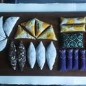 Illatos búzazsákocskák madárkákkal (25db), Játék, Bútor, Készségfejlesztő játék, Babzsák, Varrás, Újrahasznosított alapanyagból készült termékek, A búzazsákok készítésekor 100%-ban pamut anyagokat használtam, amelyek Indiából  és Ghánából   szár..., Meska