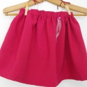 Szoknyácska , Ruha, divat, cipő, Gyerekruha, Gyerek (4-10 év), Varrás, Pink gabardin , gumis szoknya kislányoknak .Ha a te kislányod is imádja a  pörgős, csajos ruhákat ak..., Meska