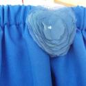 Szoknyácska., Ruha, divat, cipő, Gyerekruha, Gyerek (4-10 év), Varrás, Kék  gabardin , gumis szoknya kislányoknak .Ha a te kislányod is imádja a pörgős, csajos ruhákat akk..., Meska