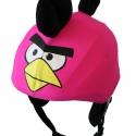 Pink Angry Birds sisakhuzat univerzális méretben, XS-XXXL bukósisakokra tervezve, Ruha, divat, cipő, Gyerekruha, Gyerek (4-10 év), Kendő, sál, sapka, kesztyű, Varrás, ANGRY BIRDS sisakhuzattal igazán vagánnyá és különlegessé varázsolhatod bukósisakodat!  Rugalmas el..., Meska