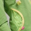 zip pilcsi- zöld BANANA, Ruha, divat, cipő, Varrás, Ez a zipzáros pulcsi nem csak szép harmóniája a zöldes sárgás árnyalatoknak és vagány, hanem kényel..., Meska