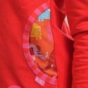zip pulcsi- piros STAR, Ruha, divat, cipő, Varrás, Ez a piros zipzáros pulcsi nemcsak vagány de kényelmes is. Kétoldalt található zsebbe apróságokat l..., Meska