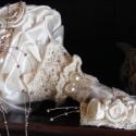 Bieder Moments Menyasszonyi Csokor Rendelhető, Esküvő, Esküvői csokor, Hajdísz, ruhadísz, Virágkötés, Varrás, Ez a csokor egy csodálatos időutazás. Régi hölgyek üzenete a legmodernebb menyasszonynak. Viselője ..., Meska