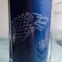 Game of thrones, Trónók harca long drink pohár 1db (ajándék, férfi, bögre, gravírozott), Férfiaknak, Dekoráció, Sör, bor, pálinka, Üvegművészet, Jelenleg készleten 1 db Lannister, és 1 db Stark!!   Trónók harca long drink pohár 1 db, kézzel gra..., Meska
