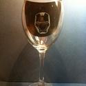 Vasember Ironman (Ironmen)boros pohár 1db (ajándék, férfi, bögre, gravírozott), Férfiaknak, Dekoráció, Sör, bor, pálinka, Üvegművészet, Vasember Ironman boros pohár 1 db, kézzel gravírozott, Vasember álarccal rendelhető  Nagy, 4,2 dl-s..., Meska