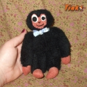 Dodi a mini gorilla, Baba-mama-gyerek, Dekorci, Jtk, Otthon, lakberendezs, Varrs, Apr kismajom, puha anyagbl kszlt, tkletes alvtrsa s kedvence lehet egy kisgyermeknek.
