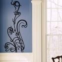 Szecessziós falminta falmatrica - Respect Horta, Dekoráció, Otthon, lakberendezés, Falmatrica, Falikép, Fotó, grafika, rajz, illusztráció, Kedvelem a szecessziót, és ez vitt arra, hogy Victor Horta jellegzetes indamintája alapján megrajzol..., Meska