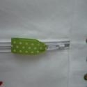 Vállfás ovis zsák, Baba-mama-gyerek, Gyerekszoba, Tárolóeszköz - gyerekszobába, Méretei: 45 x 57 cm. Gyermek és felnőtt vállfával egyaránt használható. Az óvodás jel appl..., Meska