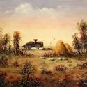 Boglyák c. olajfestmény, 50x40 cm, Dekoráció, Képzőművészet , Festmény, Olajfestmény, , Meska