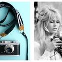 ' Maxine ' kamera/fényképezőgép pánt , Ruha, divat, cipő, Mindenmás, Öv, Varrás, Csipkekészítés, A kedvenc kis fényképezőgépedet jó lenne ha biztonságosan, stabilan  tartaná valami, amit fixen fel..., Meska