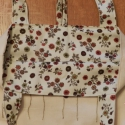 Öko bevásárlótáska, Ruha, divat, cipő, Táska, Szatyor, Varrás, Pamutvászonból varrtam ezt a táskát. Belseje bélelt. Kifordítva is hordható. Az eleje hímzett motívu..., Meska