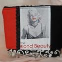 Marilyn - neszesszer, Szépségápolás, Ruha, divat, cipő, Táska, Neszesszer, Varrás, Minőségi pamutvászonból készült neszesszer a kozmetikumok, tollak, titkok tárolására. Bélelt, cipzá..., Meska