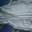 Kötött kapucnis női mellény 44-46 méretben, Ruha, divat, cipő, Női ruha, , Meska