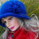 Horgolt női szürke kalap zsűrizett ! Csak neked  , Ruha, divat, cipő, Kendő, sál, sapka, kesztyű, Sapka, Horgolás, Kötés,    Horgolt női szürke sapka-kalap zsűrizett Rendelésre készül.  Kalap idei év divatja! Alkalmi és h..., Meska