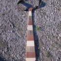 """Csíkos nyakkendő fából, Férfiaknak, Esküvő, Vőlegényes, Ing, Famegmunkálás, TimberTom márkanév alatt forgalmazzuk ezt a színes, fából készült, csíkos nyakkendőt. A """"színét"""" a ..., Meska"""
