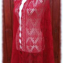 Kármen stóla, Ruha, divat, cipő, Női ruha, Estélyi ruha, Kötés, Haapsalu sall - így hívják észt nyelven ezt a habkönnyű vállkendőt. Több mint 100 éves hagyománya v..., Meska