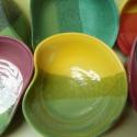 Levesestányér készlet, Otthon, lakberendezés, Esküvő, Nászajándék, Kerámia, A készlet 6db kb 18cm-es leveses/salátás tányért tartalmaz. Ezeket az edényeket,családi vállalkozás..., Meska