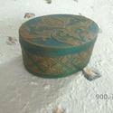 Stencilezett doboz, Dekoráció, Dísz, , Meska