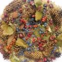 Bronzkor-koszorú,ajtókopogtató, Dekoráció, Otthon, lakberendezés, Dísz, Virágkötés, Itt az ősz,számtalan ,gyönyörűbbnél-gyönyörűbb termés megtalálható a természetben. Igazi természete..., Meska