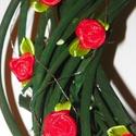 Szívem kertje-ajtódísz,falidísz, Dekoráció, Otthon, lakberendezés, Mindenmás, Dísz, Virágkötés, Famegmunkálás, Kedves kis ajándéknak  ajánlom,bármilyen ünnepre. méret -25-28cm, Meska
