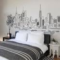 New York falmatrica, Dekoráció, Otthon, lakberendezés, Falmatrica, Falikép, Fotó, grafika, rajz, illusztráció, A falmatrica segíthet álmaink megvalósításában is: ha egy olyan országról vagy tájról készült matri..., Meska