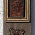 Falikép kerámia dekor installáció, Otthon, lakberendezés, Falikép, Festett tárgyak, Kerámia, Falikép kerámia dekor installáció 45x5, Meska