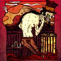 A Zsákos Ember, Képzőművészet , Illusztráció, , Meska