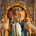 Egyiptom Csempe mozaikkép 2, Dekoráció, Képzőművészet , Konyhafelszerelés, Kép, Kerámia, Csempe kép. 15 db 108x108 mm minőségi csempe lapok felületébe égetem 200 C°-on a mozaikszerűen felo..., Meska