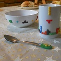 Tetrisz szett, Konyhafelszerelés, Bögre, csésze, Gyurma, Ismered a tetriszt?! Hát persze... :D A játék most egy reggelizős szett része lett: bögre, müzlistá..., Meska