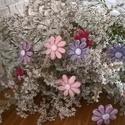 Púder Színű vagy Kék Árnyalatú Mázas  Kerámia Vrágok, Dekoráció, Otthon, lakberendezés, Kaspó, virágtartó, váza, korsó, cserép, Kerti dísz, Kerámia,    Szedj egy csokrot a virágos kertemből!  Egész évben díszítheted vele asztalodat,lakásodat.Némi k..., Meska