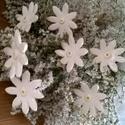 Rózsaszín Árnyalatú  vagy  Fehér Mázas Kerámia Virágok, Otthon, lakberendezés, Dekoráció, Kaspó, virágtartó, váza, korsó, cserép, Kerti dísz, Kerámia,  Szedj egy  csokrot  a virágos kertemből!  Egész évben üde színfoltja lehet otthonodnak.A csokrot k..., Meska