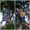 Virágok Tánca  Kerámia Szélcsengő, Dekoráció, Otthon, lakberendezés, Mindenmás, Kaspó, virágtartó, váza, korsó, cserép, Kerámia, Ősi Feng Shui eszköz mely bőséget harmóniát és meghitt kapcsolatokat teremt!  Fehér agyagból kézzel..., Meska