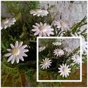 7 db Margaréta Kerámia Virágok (tp.14), Dekoráció, Otthon, lakberendezés, Ünnepi dekoráció, Kaspó, virágtartó, váza, korsó, cserép, Kerámia, Virágkötés, Szedj egy csokrot a virágos kertemből ! Állítsd össze a saját csokrod!Tedd kosárba valamelyik össze..., Meska