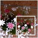 10 db   Apró Kerámia  Virág, Otthon, lakberendezés, Dekoráció, Kaspó, virágtartó, váza, korsó, cserép, Kerti dísz, Kerámia, Virágkötés,  Szedj egy  csokrot  a virágos kertemből!  Egész évben üde színfoltja lehet otthonodnak.A csokrot k..., Meska