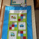 Gyerek takaró, Baba-mama-gyerek, Gyerekszoba, Falvédő, takaró, Patchwork, foltvarrás, A takaró patchwork technikával készül. Mintája a megrendelő igényei alapján készülnek.  A takaró 3 ..., Meska