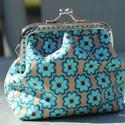 Pénztárca retromintás Holland designer  textilből, Táska, Pénztárca, tok, tárca, , Meska