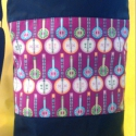 Jazz between friends - bendzsó textilbőr táska, Táska, Baba-mama-gyerek, Ruha, divat, cipő, Varrás, Textilbőrből és amerikai pamutvászonból készült ez a táska.Ha igazi különlegességet akarsz,akkor vá..., Meska