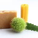 Mézes-méhviaszos szappan, Szépségápolás, Szappan, tisztálkodószer, Növényi alapanyagú szappan, Natúrszappan, Szappankészítés, MÉHVIASZ -  bőrnyugtató, gyulladáscsökkentő, baktériumölő hatású, hatására bőr megpuhul és feszessé..., Meska