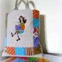 Keresztszemes minta- Foltoscsajszi, Képzőművészet, Textil, Keresztszemes minta a saját festményem részletéből. Mérhetetlen boldogsággal, elégedettséggel tölten..., Meska