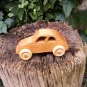 Fakocsi, fa autó, Játék, Fajáték, Famegmunkálás, Cseresznyefából készült fajáték. Mérete:13x6x5cm, Meska