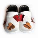 Bőr puhatalpú babacipő - Pillangós, Baba-mama-gyerek, Ruha, divat, cipő, Gyerekruha, Baba (0-1év), Varrás, Teljesen bőr babacipő, mely ideális a járni tanuló babáknak, vagy nagyobb gyermekeknek.  15-26-os m..., Meska