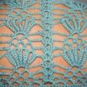 kötés-horgolás egyben, Ruha, divat, cipő, Női ruha, 100 % akril , nagyon szép zöld, enyhén melírozott fonalból készült, ez az igazán egyedire si..., Meska