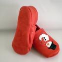 Hóember puhatalpú cipő, Piloo, Baba-mama-gyerek, Ruha, divat, cipő, Baba-mama kellék, Cipő, papucs, Bőrművesség, Varrás, Puha bőrből készült ez a cipőcske, felső részét hóember díszíti, készülődve a télre, a havazásra és..., Meska