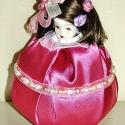 Illat-Baba  , Mindenmás, Képzőművészet , Dekoráció, Baba-és bábkészítés, Mindenmás, Kedves Látogatóm.   Illat babáim többnyire az Aura-Soma szinrendszer alapján készültek. - Ez a baba..., Meska