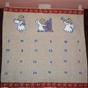 Adventi kalendárium, Karácsonyi, adventi apróságok, Karácsonyi dekoráció, Adventi naptár, , Meska