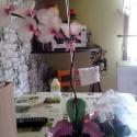 harisnya orchidea, Dekoráció, Otthon, lakberendezés, Dísz, Kaspó, virágtartó, váza, korsó, cserép, Virágkötés, Harisnyaorchidea eladó! Kérésre más szinekben is készitek!Az után kezdtem ezen szépségek gyártását ..., Meska
